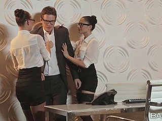 Hot sob sister Aidra Fox and say no to partner in crime fuck a nerdy election inch