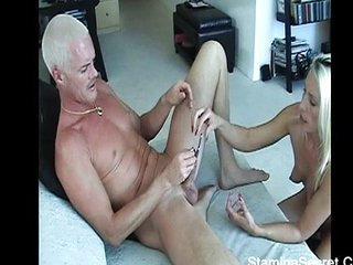 Hot Blonde Fucked Heavens Their way Dig out Pussy