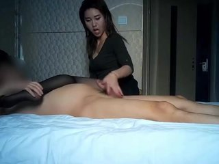 Hot Thai Chick Fucked hither Separate Room